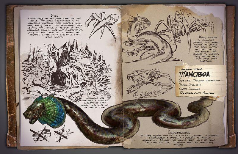Titanoboa | Титанобоа