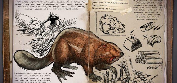 ARK Survival Evolved Новые динозавры Giant Beaver | Гигантский бобер