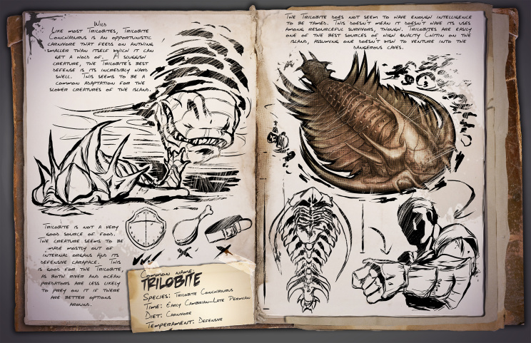 ARK Survival Evolved Новые динозавры Trilobite | Трилобит