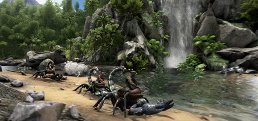 Как приручить скорпиона Ark Survival Evolved?