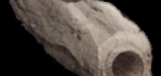 Stone Irrigation Pipe - Inclined | Каменная Труба для орошения - наклонная