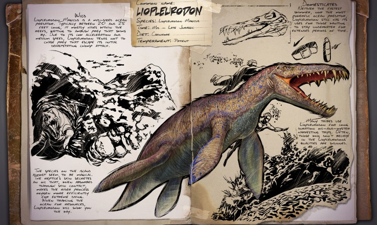 ARK Survival Evolved Новые динозавры Liopleurodon | Лиоплевродон ARK Survival Evolved