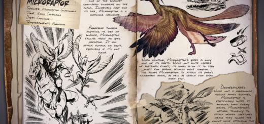 Microraptor | Микрораптор