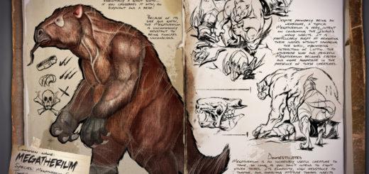 Megatherium | Мегатерий | Гигантский ленивец в ARK Survival Evolved