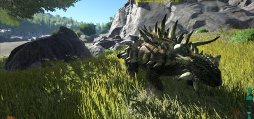 ARK Survival Evolved Седло для Анкилозавра (Ankylosaurus)