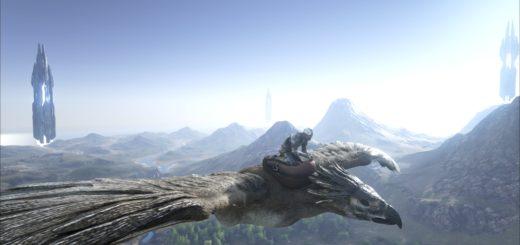 ARK Survival Evolved Седло для Орла (Argentavis)