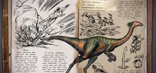 Gallimimus | Галлимим ark survival evolved