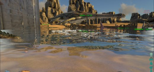 ARK Survival Evolved Седло для Плезиозавра