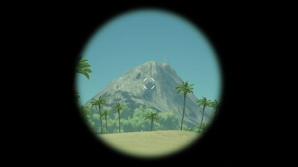 Вид через Коллиматорный прицел в ARK Survival Evolved