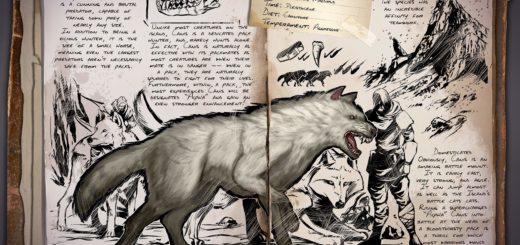 Direwolf | Ужасный волк ARK Survival Evolved