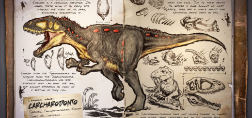 Кархародонтозавр | Carcharodontosaurus ARK Survival Evolved