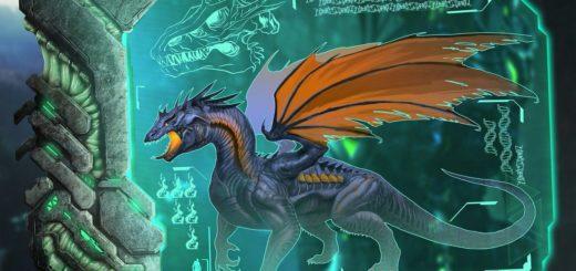 Дракон в ARK:Survival Evolved