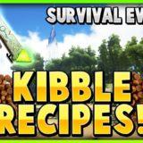 ARK: Survival Evolved таблица приготовления dino kibble | Корма для динозавров