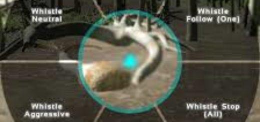 Свист команды динозаврам ARK: Survival Evolved