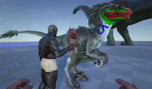 Боевая раскраска для Персонажей и ваших динозавров