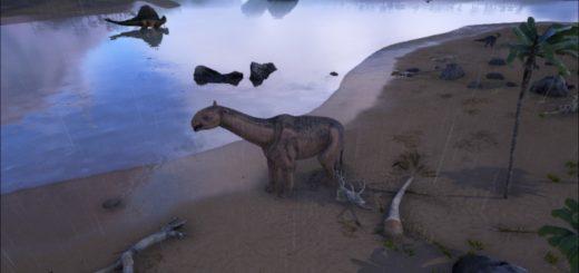 ARK Survival Evolved Как приручить Парацератерия | Paraceratherium