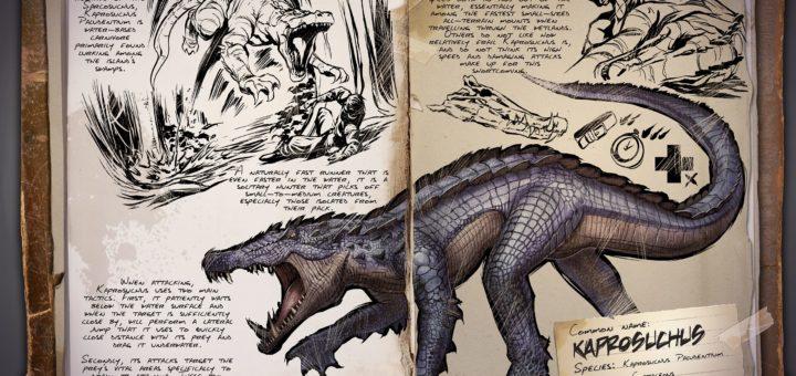 Капрозух | Kaprosuchus ARK Survival Evolved
