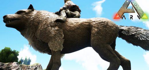 ARK Survival Evolved Как приручить Волка Ужасного