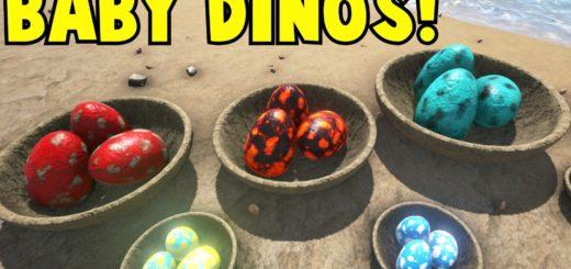 Список размножаемых динозавров в ARK Survival Evolved