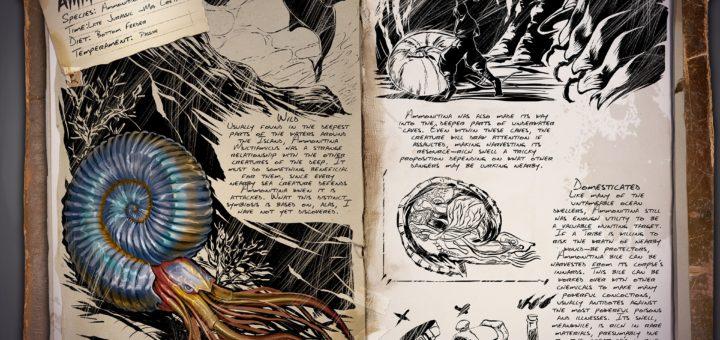 Аммониты | Ammonite ark survival evolved