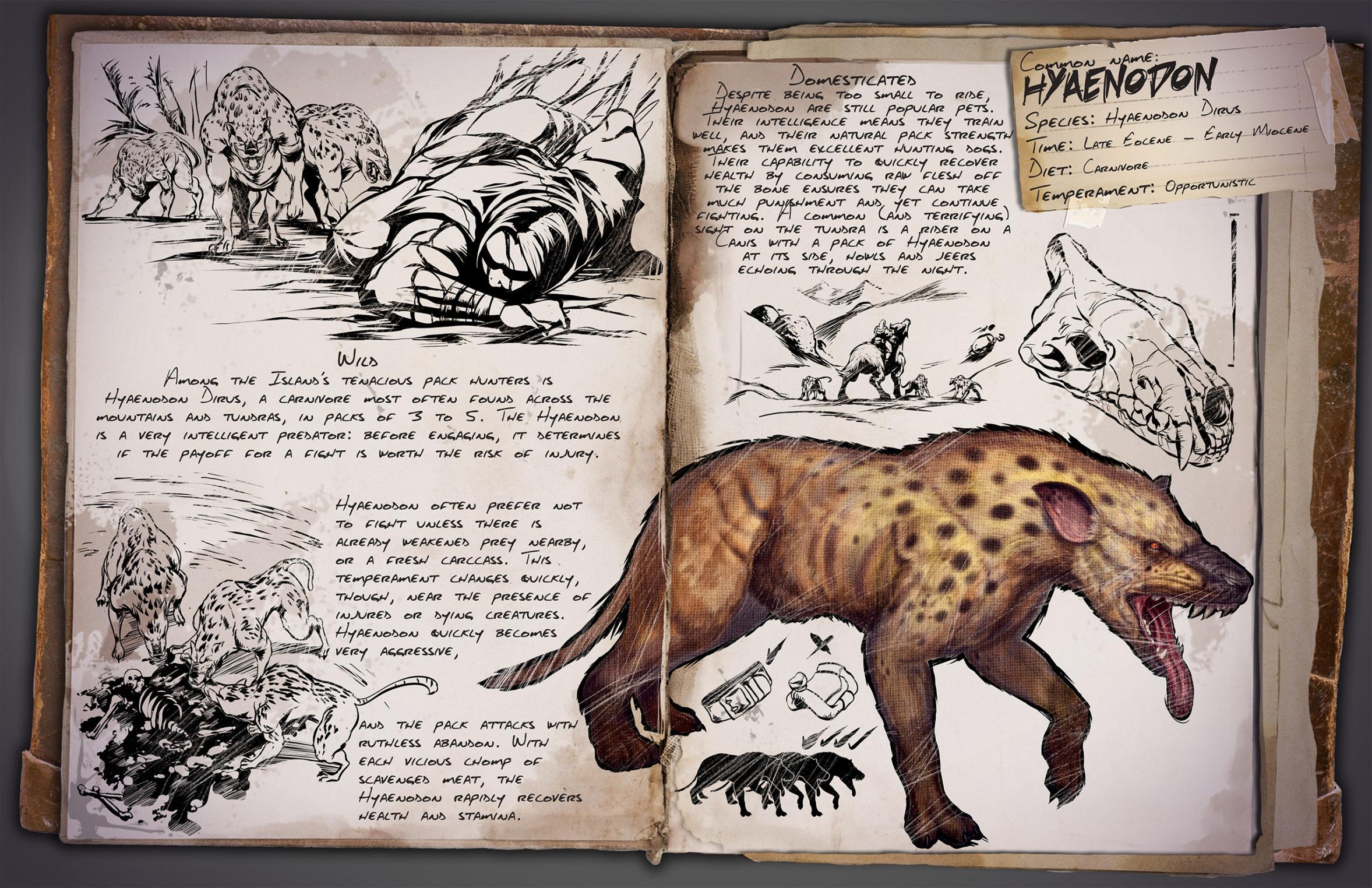 Гиенодон | Hyaenodon