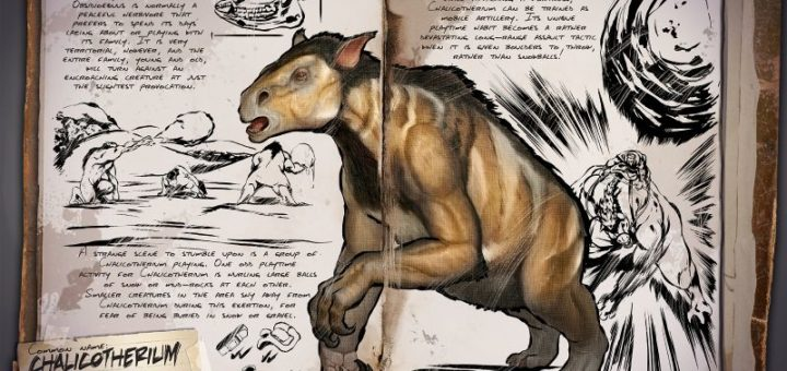 Халикотерий | Chalicotherium ark survival evolved