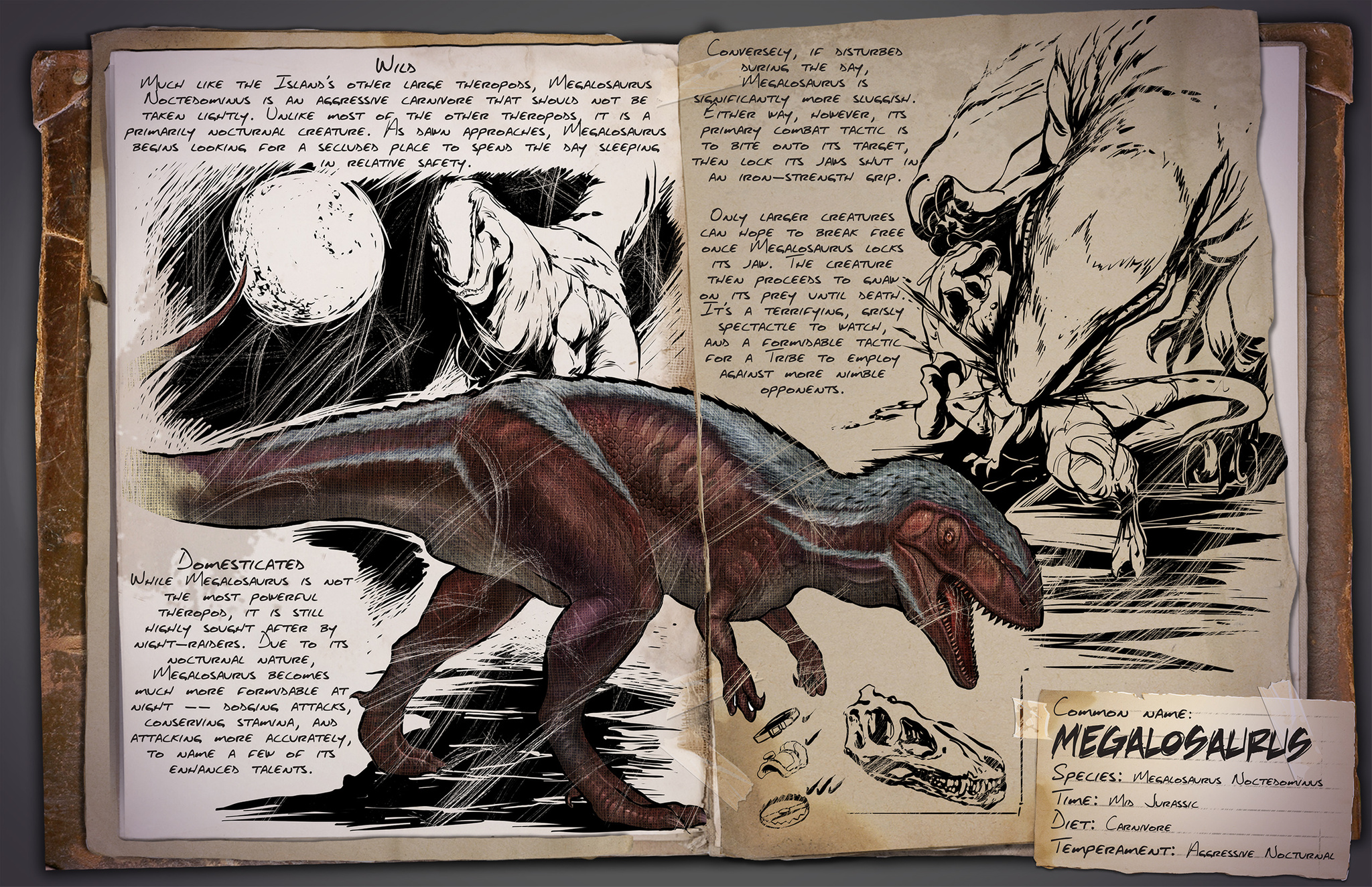 Мегалозавр ARK Survival Evolved