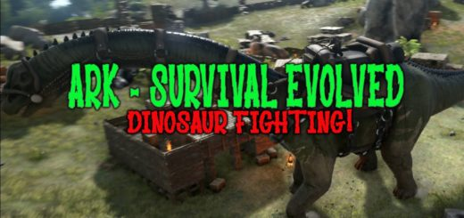 ARK Survival Evolved Бои Динозавров - Кто сильней?