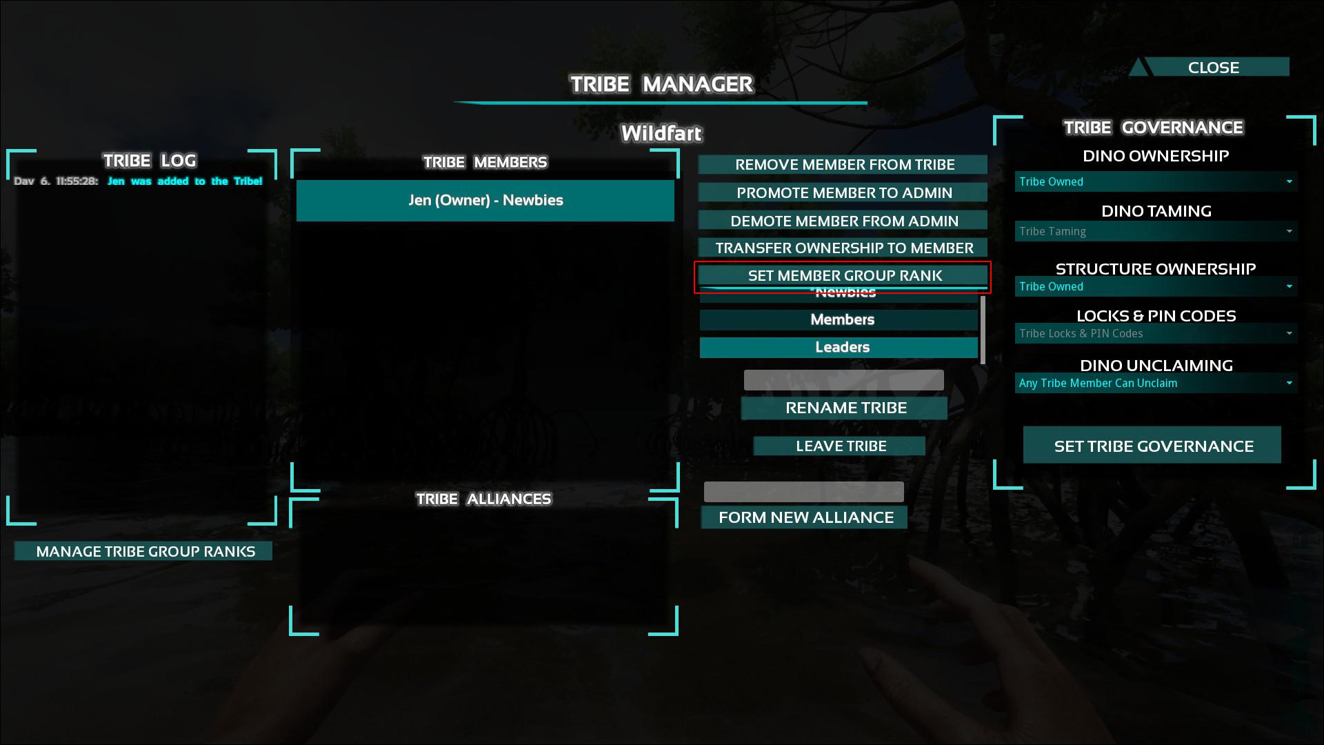 ARK Survival Evolved Новая Система Рангов для Членов Племени
