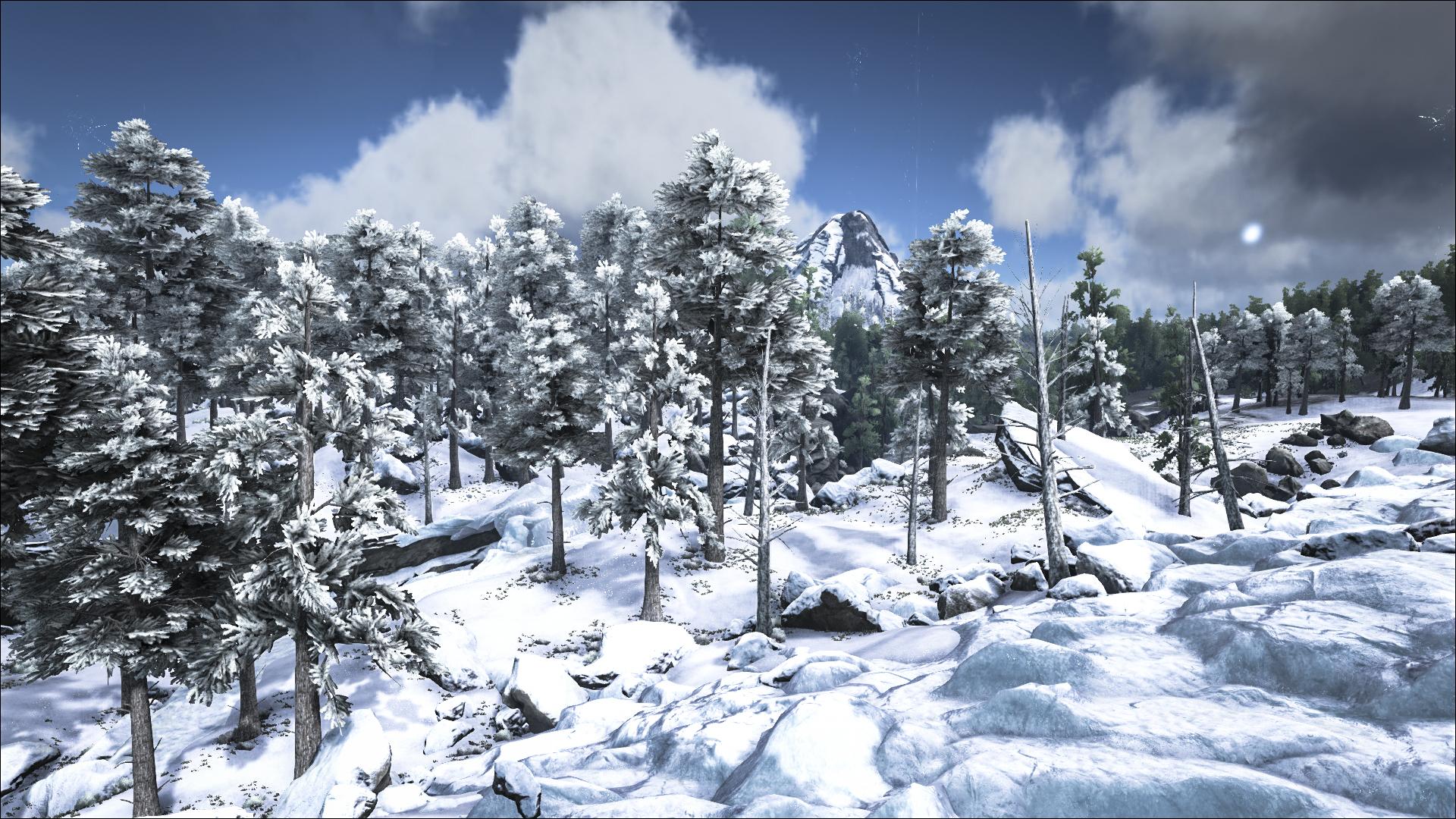 ARK: изменения биомов. Снежный Биом