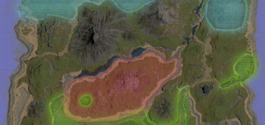 ARK: изменения биомов. Новый Биом: Красный лес | Redwood