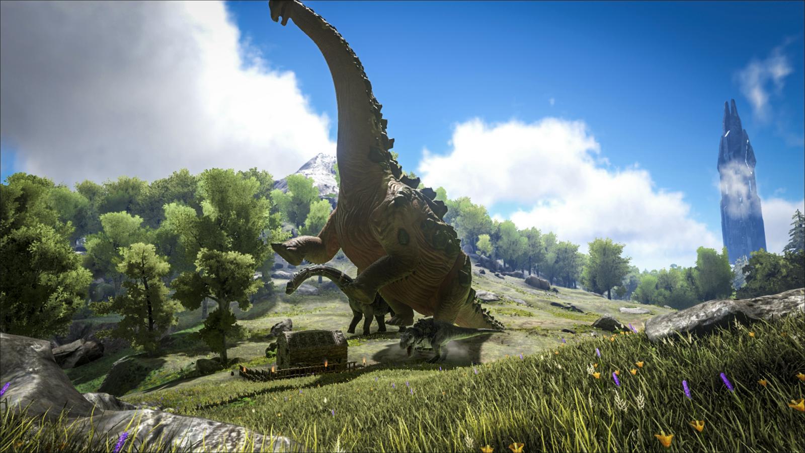 титанозавр арк