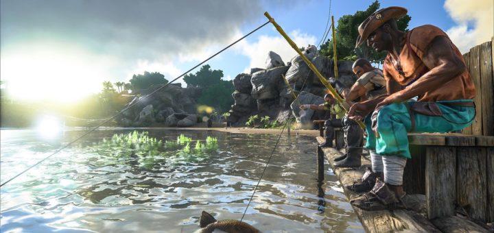 Рыболовная удочка ARK Survival Evolved Патч 245