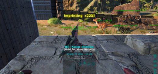 Импринтинг ARK Survival Evolved Обучение, игра с детенышами