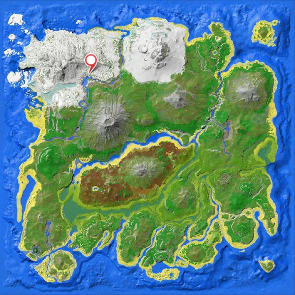 Снежная Пещера ARK Survival Evolved
