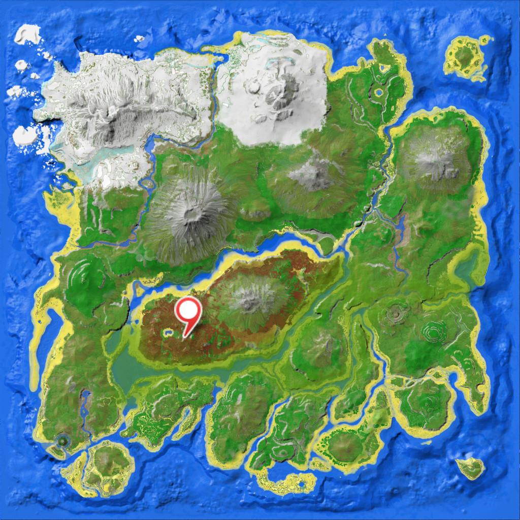 БолотнаяПещера ARK Survival Evolved