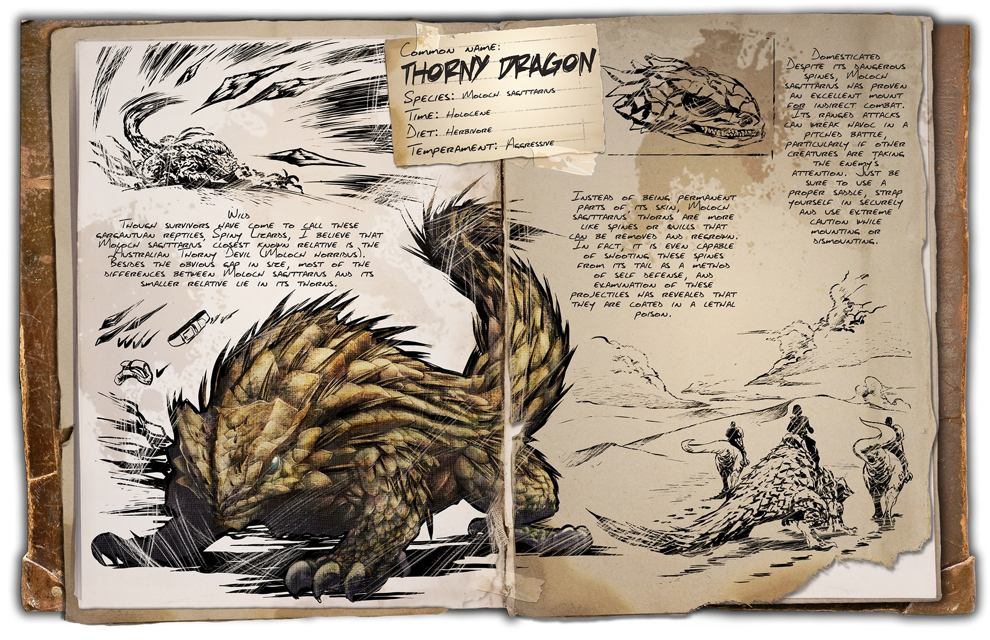 Thorny Dragon ARK Scorched Earth