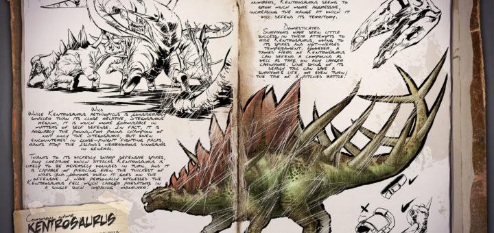 Кентрозавр ARK: Survival Earth