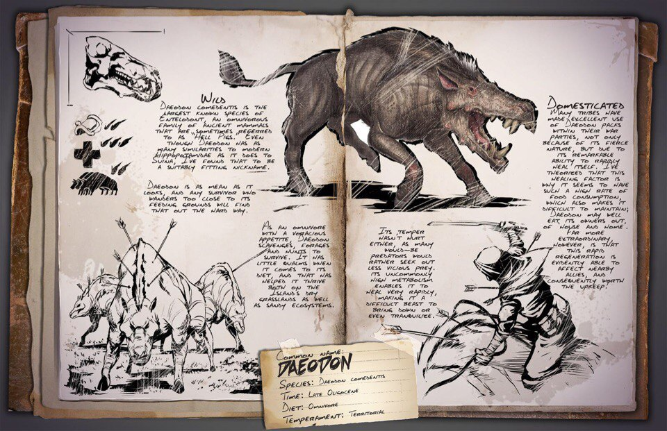 Деодон ARK Survival Evolved