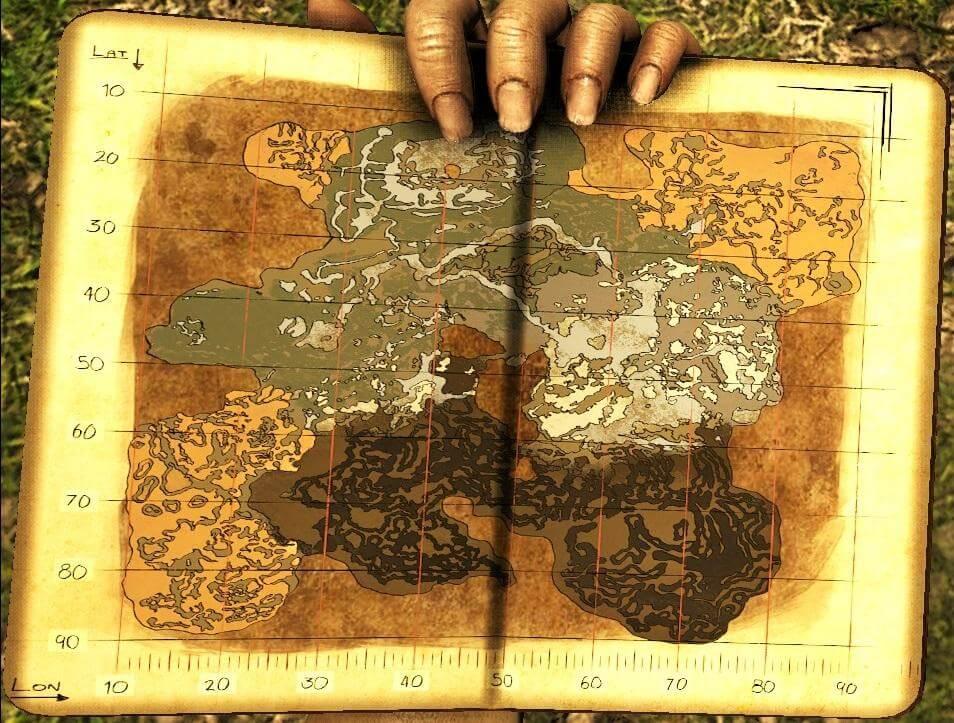 Карта ARK: Aberration