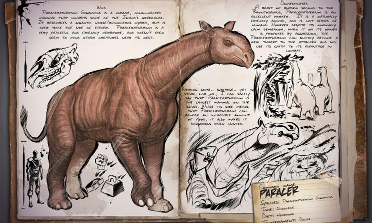 ARK Survival Evolved Новые динозавры Paraceratherium