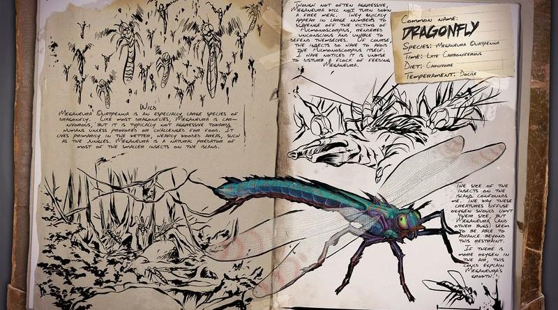 ARK Survival Evolved Новые динозавры Dragonfly | Стрекоза