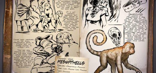 ARK Survival Evolved Новые динозавры Mesopithecus | Мартышка