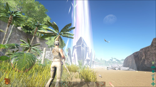 ARK Survival Evolved лучи