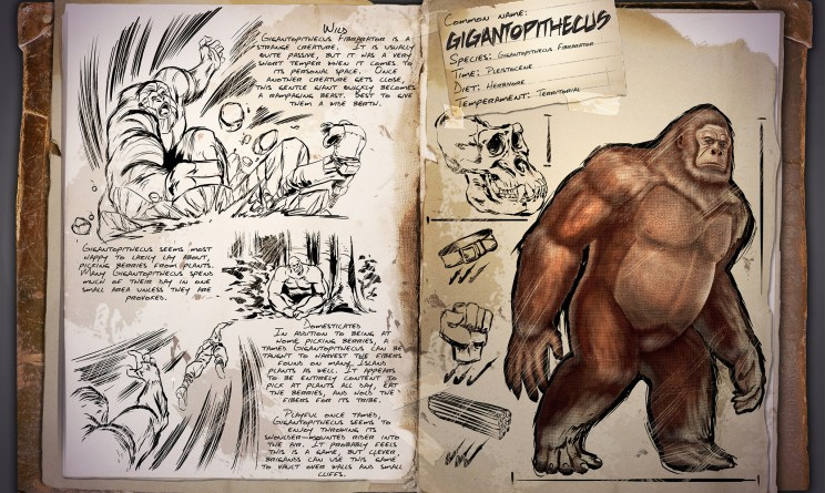 ARK Survival Evolved Новые динозавры Гигантопитеки Gigantopithecus