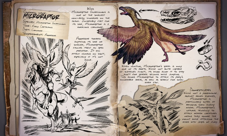 ARK Survival Evolved Новые динозавры Microraptor | Микрораптор