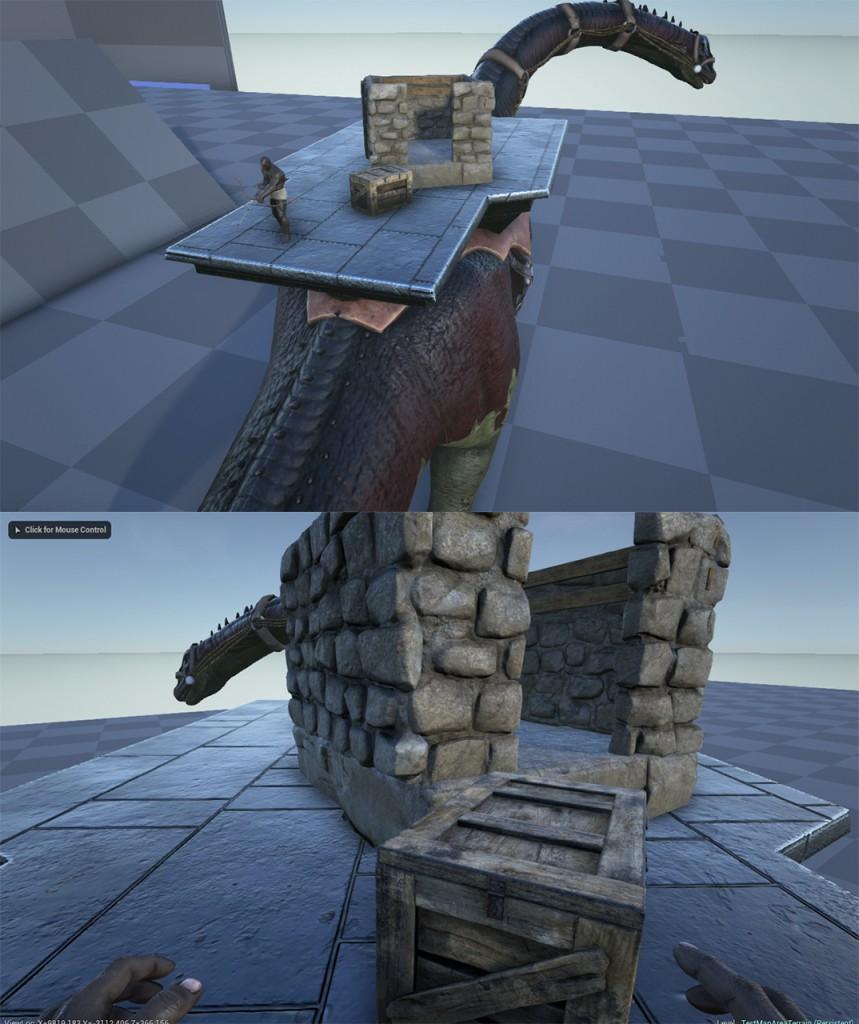 Строительство на седлах-платформах