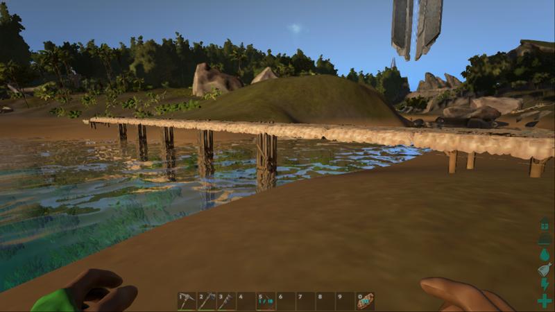 Wooden Pillar | Деревянный столб в игре ARK Survival Evolved