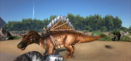 ARK Survival Evolved Седло для Спинозавра