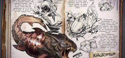 ARK Survival Evolved Новые динозавры Dunkleosteus | Дунклеостей ARK Survival Evolved